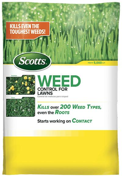Weed Control for Lawns 5M bag