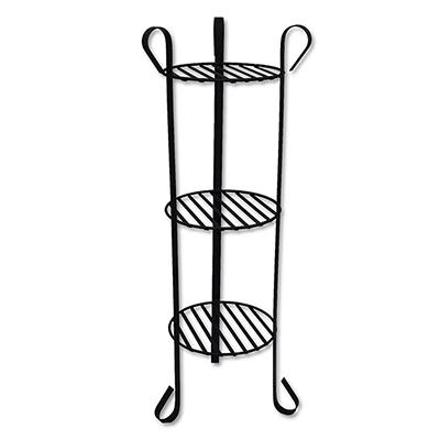 Nantucket Wrought Iron Plant Stand 32in