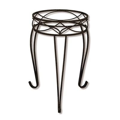Chelsea Wrought Iron Plant Stand 21in
